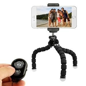 Cell Phone Tripod Stand - Flexible